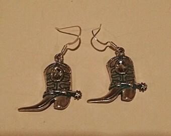 Cowboy Boot Earrings