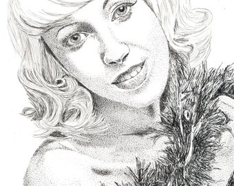 Pen & Ink Drawing, A4 - Kirsten Osborn #2