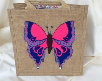 Butterfly Appliqué Tote
