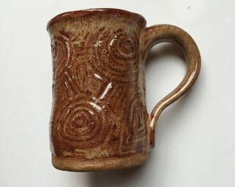 We're All Connected : Hand Built Mug