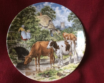 Life on the Farm collection by John L Chapman and Wedgwood, A Cooling Drink