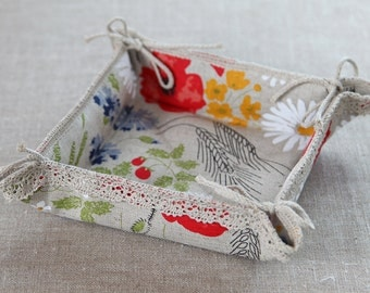 Linen Basket Meadow