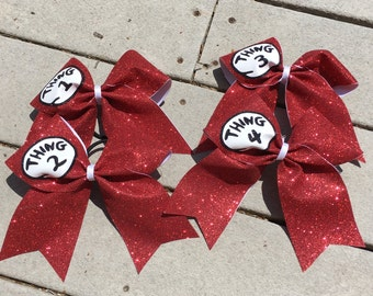 Dr Seuss Thing Bows