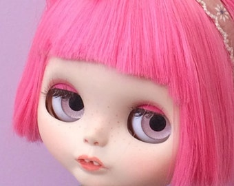 Reserverd - Custom Blythe Doll - with Pink hair - Dinah