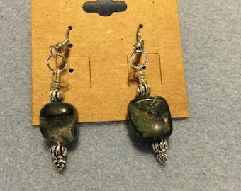 Green stone agate