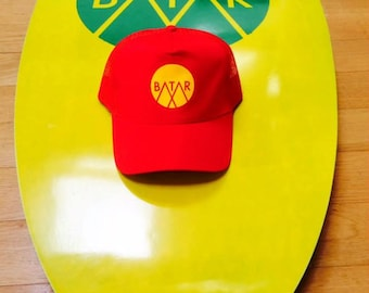 Baseball Cap - Red & Yellow