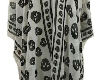 Gypsy Blouse-Skulls