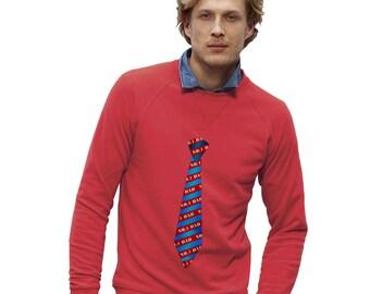 Men's No.1 Dad Tie Sweatshirt