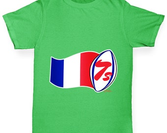 Girl's Rugby 7S France T-Shirt
