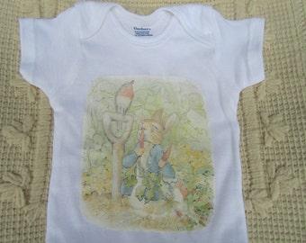Beatrix Potter's Peter Rabbit Onesie 6-9 months