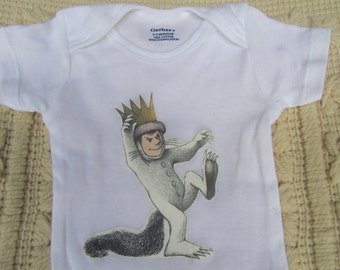 Where the Wild Things Are Onesie 6-9 months