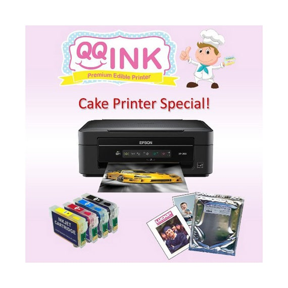 Cake Edible Image Printer : QQink Cake Printer Bundle Epson Comes with Edible Ink & by ...