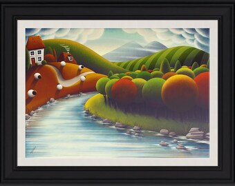 At The Rivers Edge (Limited Edition Framed Print)