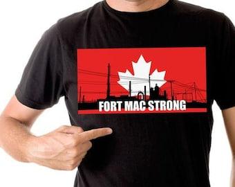 Fort Mac Strong t-shirt