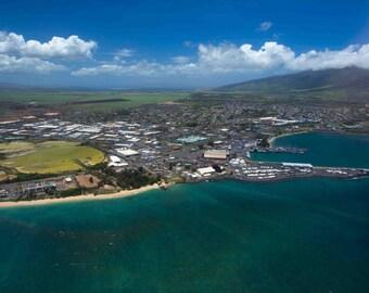 Maui, Hawaii Panoramic photo taken from above