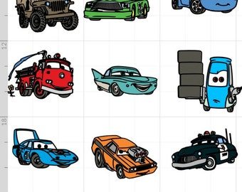 Disney Cars Large Cut Outs