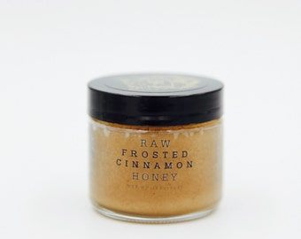 Raw Frosted Cinnamon Honey 3oz