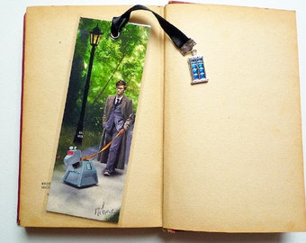 Handmade Doctor Who and K9 - illustrated, laminated, bookmark