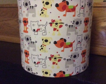 20cm drum table lampshade