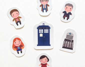 Doctor Who Sticker Pack (12th Doctor sold out!)
