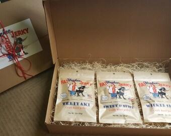 3 Beef Jerky Gift Box