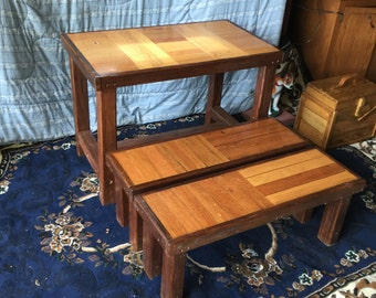 Kids Desk and Benches