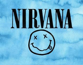 Nirvana // Art Print // Wall Art