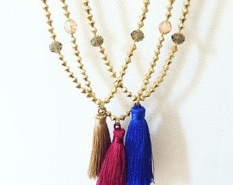 Anilah Fringe Necklace
