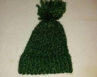 Green Winter Hat