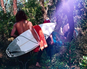 Road to Sea n 3 - Analog Photography - Girls in surfing - France - Lifestyle