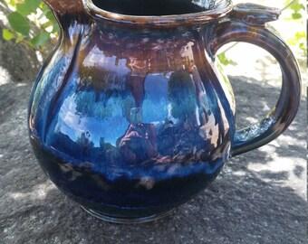 lemonade stoneware pitcher