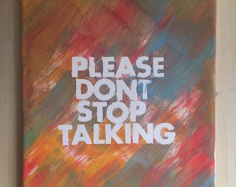 how to stop your friend from talking