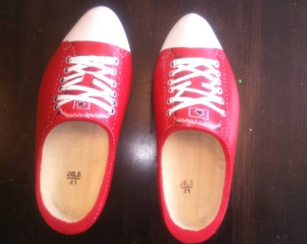 Wooden shoes urban style