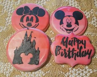Disney Birthday Cookies