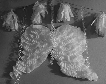 Angel Wings Hanging Decorations