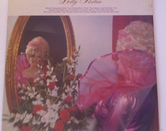 Vintage 1970 Country Music Album, Dolly Parton, the Fairest Of Them All, More Than Their Share, Just The Way I Am, Mammie, Vintage Legend
