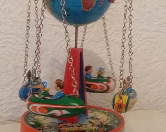 Vintage 50s carosel by jw toys