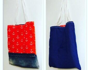 Bag reversible Marin