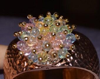 Old fashioned corsage bracelet