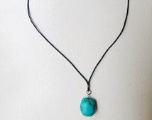 Turquoise Necklace/Choker, Gemstone Necklace, Gemstone Choker