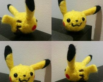Needle Felt Pikachu