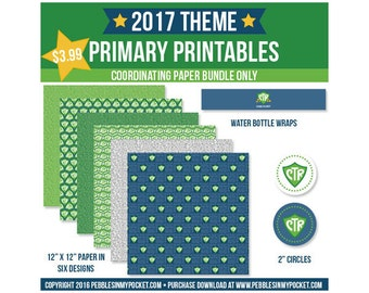 Primary 2017 Paper Bundle Digital Download Pdf & Jpg Files