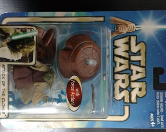 STAR WARS Attack of the Clones YODA Jedi Master Action Figures (2002)