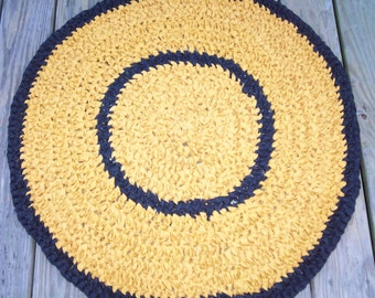 Crocheted Round Rug