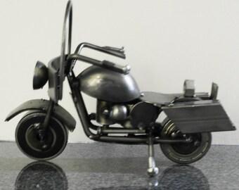 Scrap Metal sculpture Motorcycle