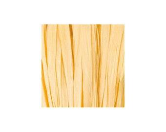 Raffia yellow mast - artificial raffia - 10gr - raffia Ribbon - raffia thread