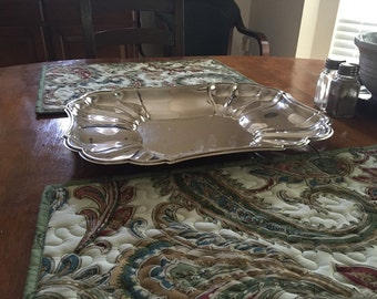 Vintage Gorham Silver Plated Serving Tray/Platter