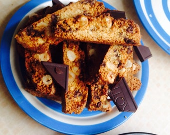 Chocolate Hazelnut Cantucci