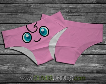 Jigglypuff Pokemon Panties