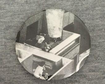 55mm Brutalist Architeture Badge